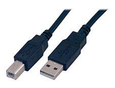 MCL Samar - câble USB 2.0 type A vers USB 2.00 type B (M) - 5 m