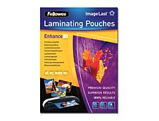 Fellowes - 25 pochettes de plastification A4 (216 x 303 mm) - 125 microns - brillantes