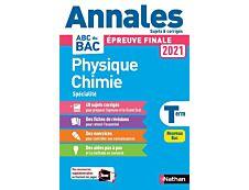 Annales BAC 2021 - Physique Chimie Terminale - Corrigé
