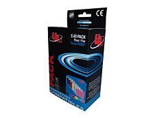 Epson T0807 Colibri - compatible UPrint E.80 - Pack de 6 - noir, cyan, magenta, jaune, magenta clair, cyan clair - cartouche d'encre
