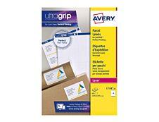Avery - 60 Étiquettes d'expédition blanches - 99,1 x 139 mm - Impression laser - réf L7169-15