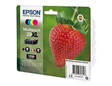 Epson 29XL Fraise - Pack de 4 - noir, cyan, magenta, jaune - cartouche d'encre originale