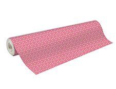 Clairefontaine - Papier cadeau kraft - 70 cm x 50 m - 70 g/m² - motif fleurs roses