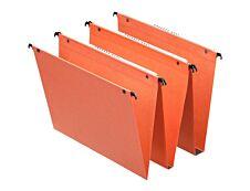 Esselte Dual - 25 Dossiers suspendus pour tiroirs - fond 15 mm