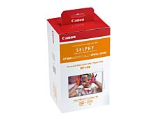 Canon RP-108 - kit encre couleur + 108 feuilles  - cartouche d'encre originale