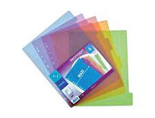 Viquel Propysoft - Intercalaire 6 positions - A4 Maxi - polypropylène coloré