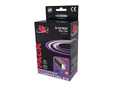 Brother LC121/LC123/LC125/LC127 - compatible UPrint B.123 - Pack de 5 - noir x2, cyan, magenta, jaune - cartouche d'encre