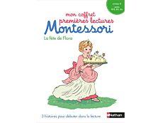 Mon coffret premières lectures Montessori - La fête de Flora - niveau 2