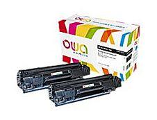 Owa K35356OW cartouche équivalente HP 78A - pack de 2 - noir