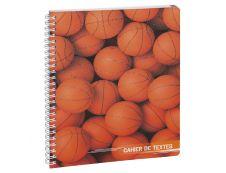 Cahier de textes spiralé Sports - 17 x 22 cm - disponible dans différentes couleurs - Exacompta