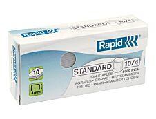 Rapid - Boîte de 5000 Agrafes N°10 (10/4mm) - jusqu'à 10 feuilles - acier galvanisé