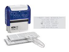 Colop - Tampon Printer 40 à faire soi-même - 6 lignes