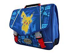Pokemon Cartable 38 cm bleu 2 compartiments Bagtrotter