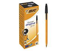 BIC Orange - 20 Stylos à bille - noir
