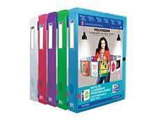 Oxford Polyvision - Boîte de classement personnalisable - dos 40 mm - disponible dans différentes couleurs translucides
