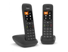 Gigaset C575 Duo -  téléphone sans fil  + combiné supplémentaire - noir