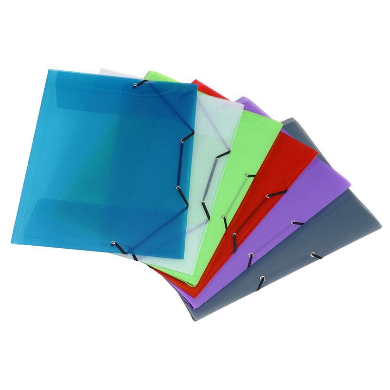 Viquel Propyglass - Chemise polypro à rabats - A3 - disponible dans différentes couleurs