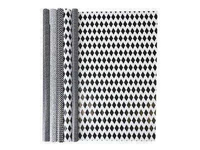 Clairefontaine Alliance - Papier cadeau - 70 cm x 2 m - 60 g/m² - différents motifs tendances