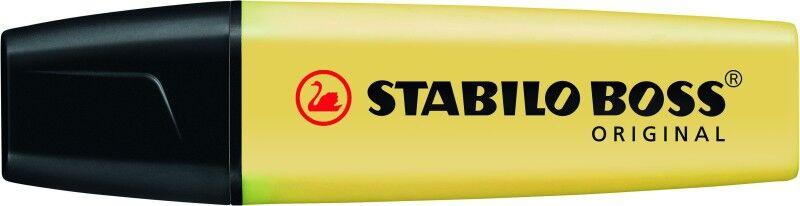 STABILO BOSS ORIGINAL Pastel - Surligneur - crème de jaune
