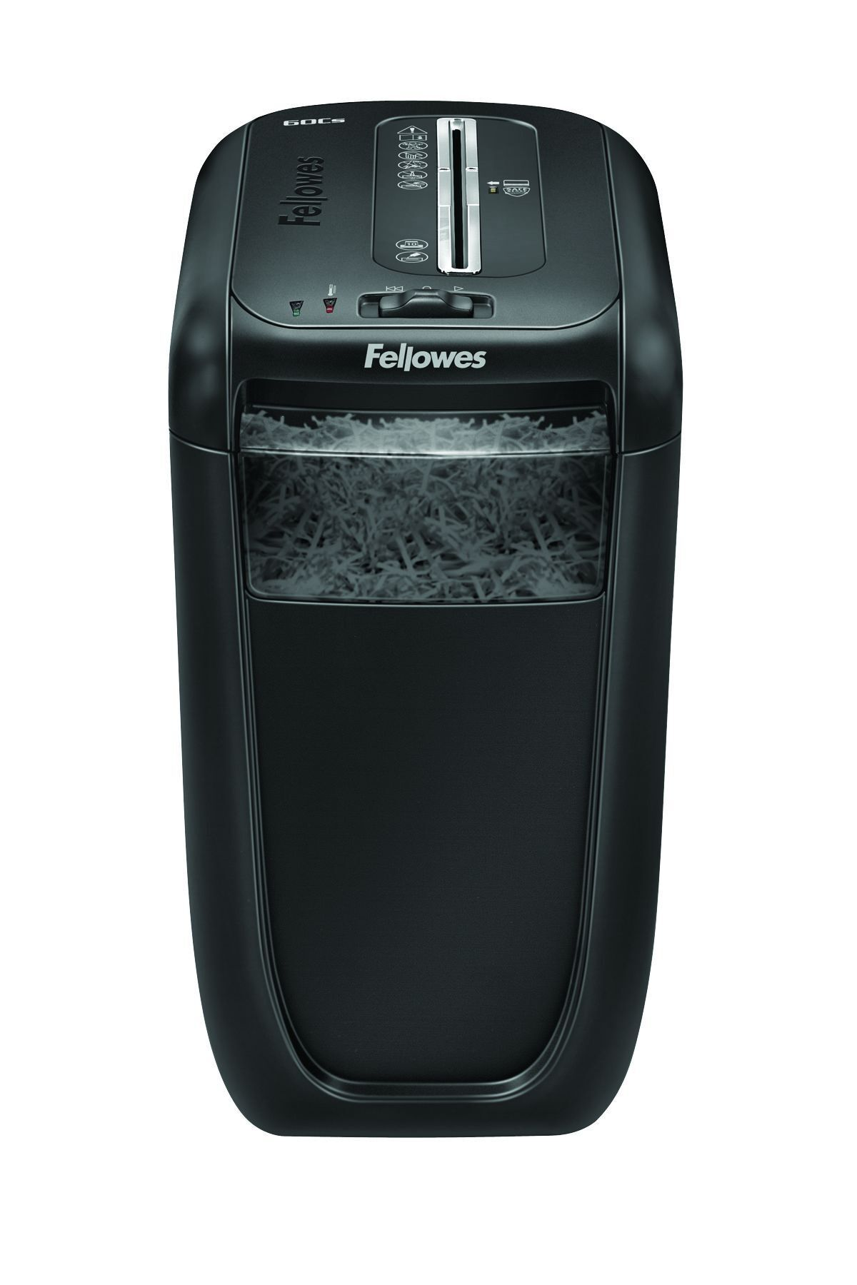 Fellowes Powershred 60CS - destructeur de documents coupe croisée - 10 feuilles - Corbeille 22 litres