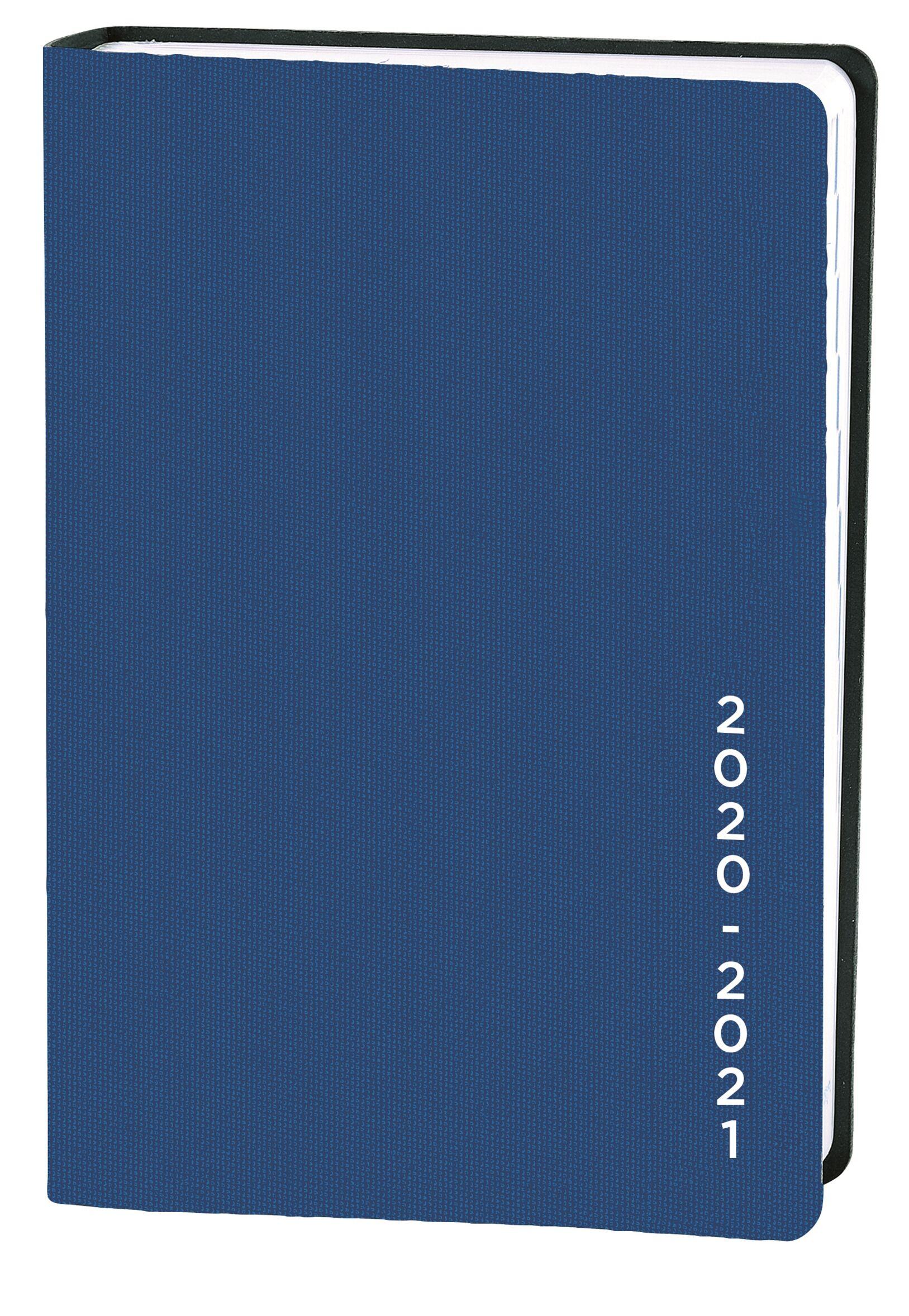 Agenda Galaxy - 1 jour par page - 10 x 15 cm - bleu - Quo Vadis