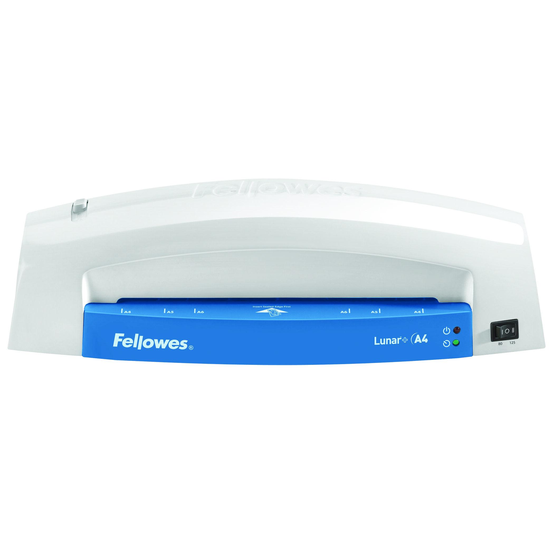 Fellowes Lunar + A4 - Plastifieuse A4 - de 80 à 125 microns - bleu