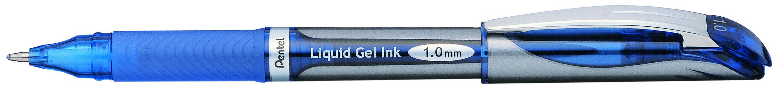Pentel Energel - Roller capuchon - 1 mm - bleu