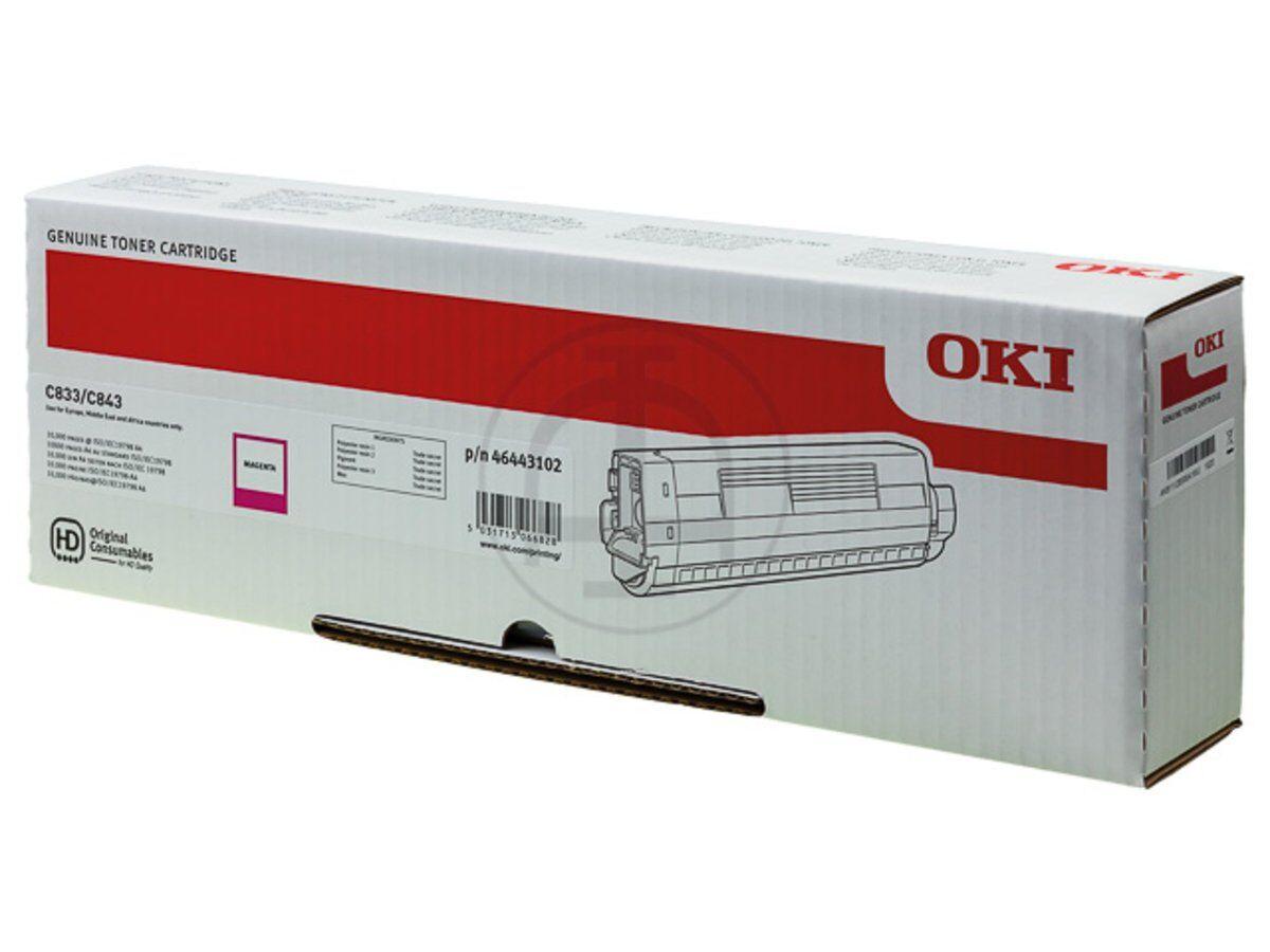 OKI 46443102 - magenta - cartouche laser d'origine