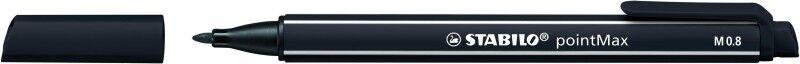 STABILO pointMax - Feutre d'écriture - pointe moyenne - noir
