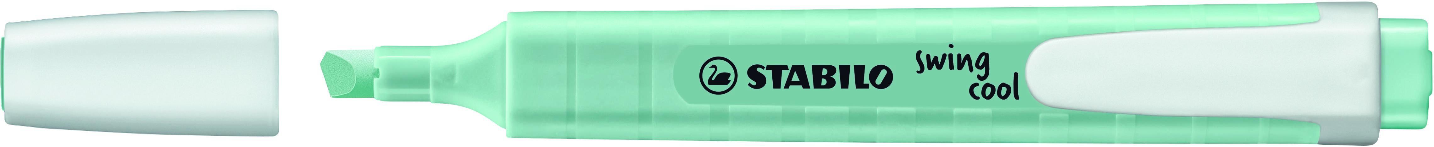 STABILO swing cool Pastel - Surligneur - touche de turquoise
