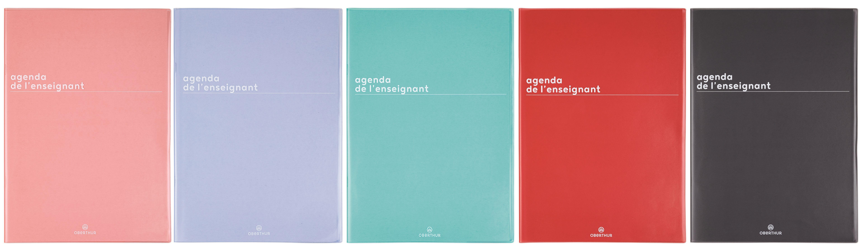 Boréal - Agenda de l'Enseignant - 21,5 x 30 cm - Oberthur
