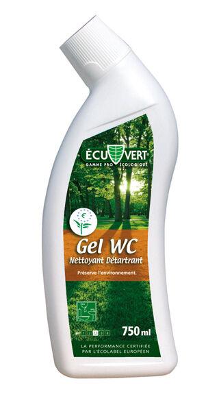 Écu Vert - Gel WC nettoyant détartrant 750 ml