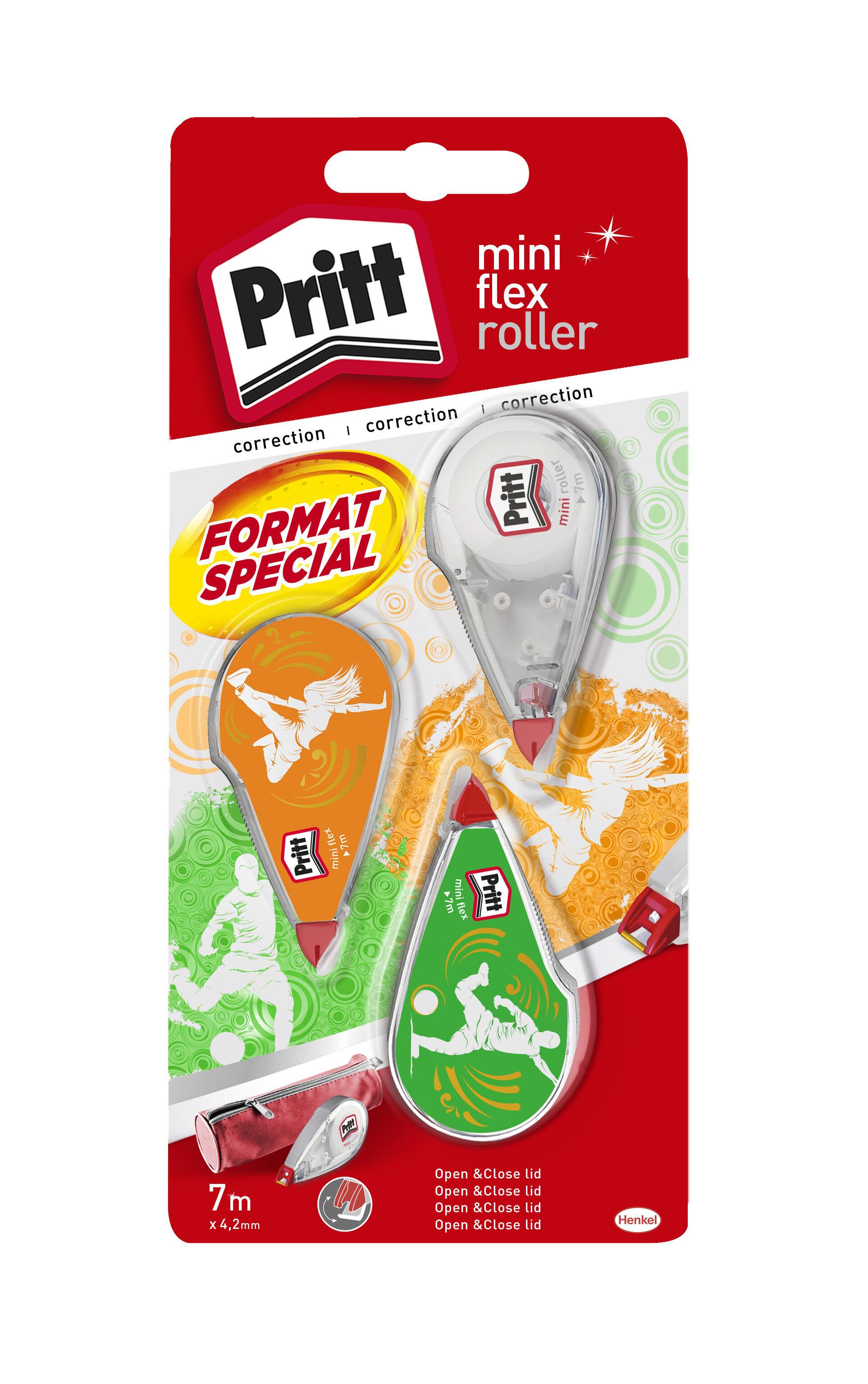 Pritt - 3 Mini rollers de correction