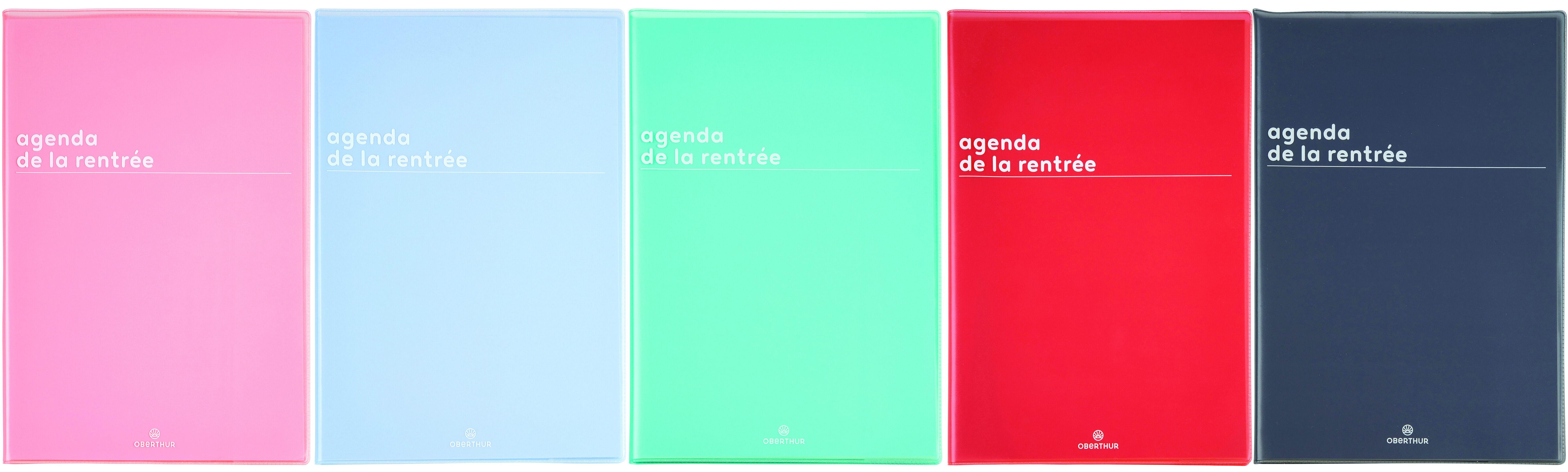 Boréal - Agenda de la Rentrée - 1 semaine sur 2 pages - 16 x 24 cm - Oberthur