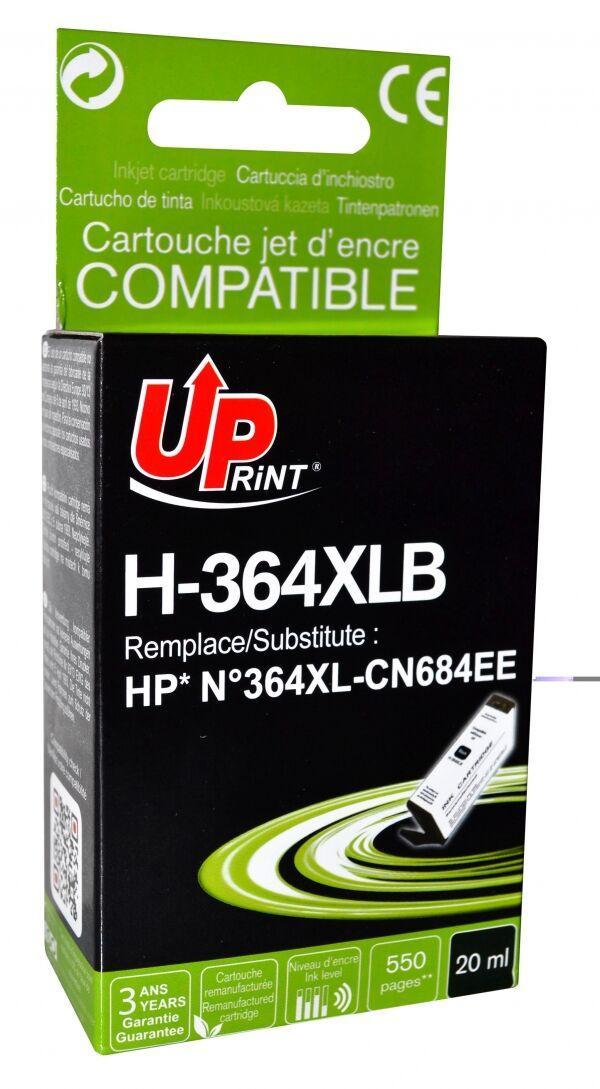 HP 364XL - remanufacturé UPrint H.364XLB - noir - cartouche d'encre