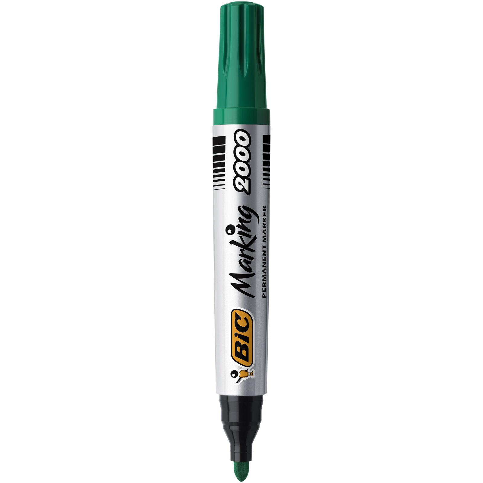 BIC MARKING 2000 Marqueur permanent pointe ogive vert