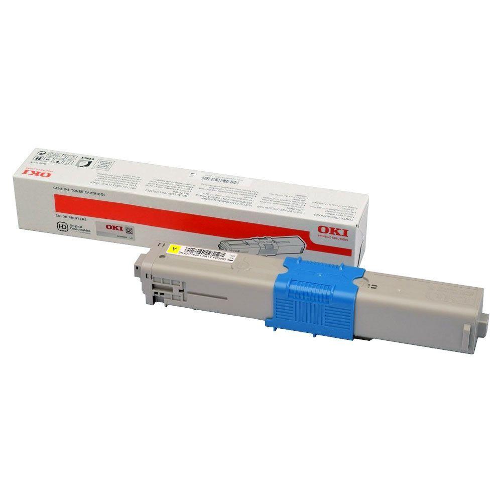 OKI 46508713 - jaune - cartouche laser d'origine