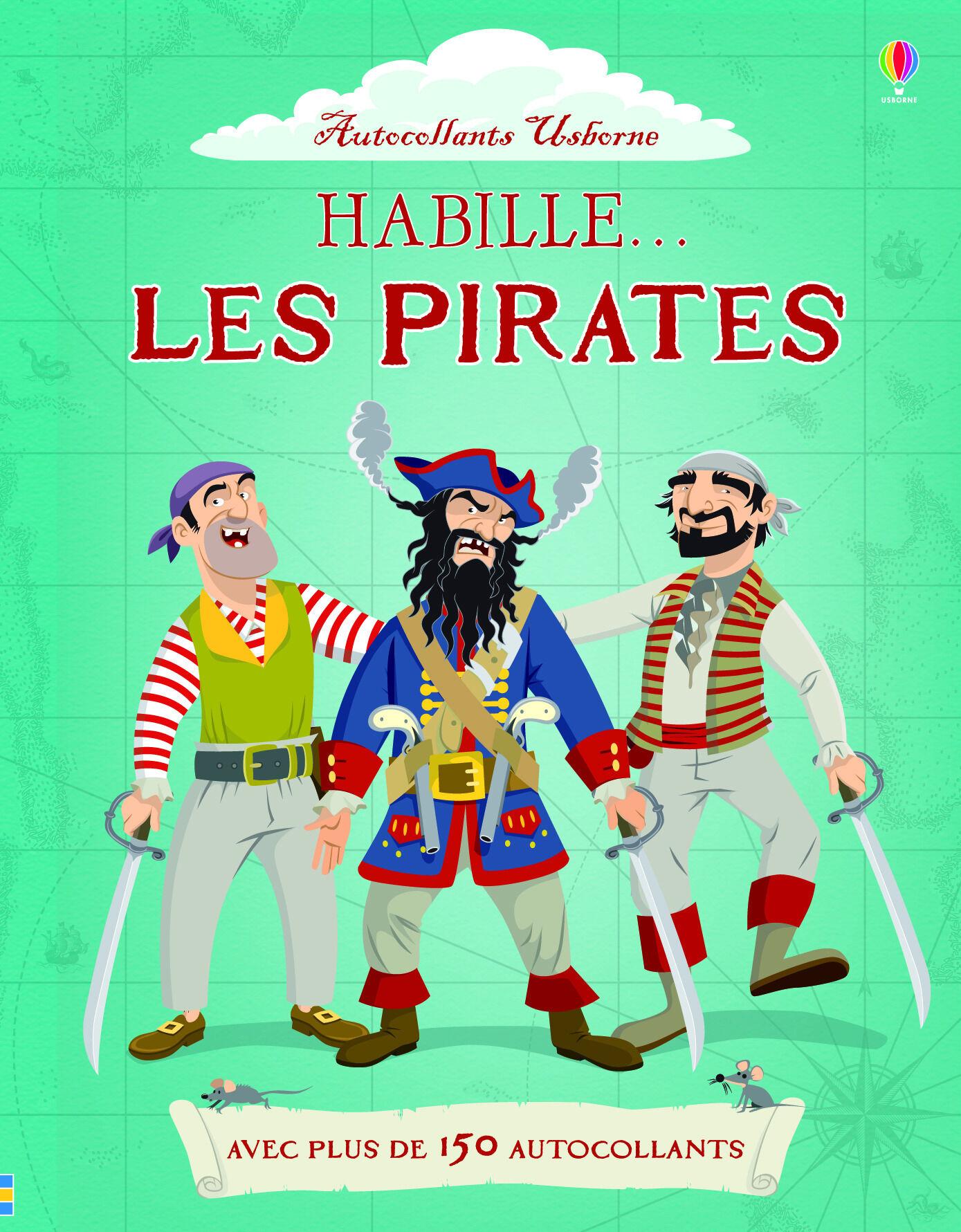 Habille... les pirates - autocollants