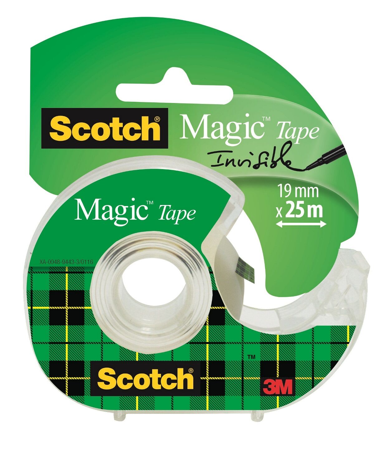 Scotch Magic - Ruban adhésif - 19 mm x 25 m - invisible
