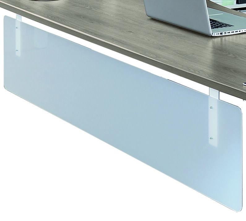 Voile de fond pour bureau L140 cm - translucide