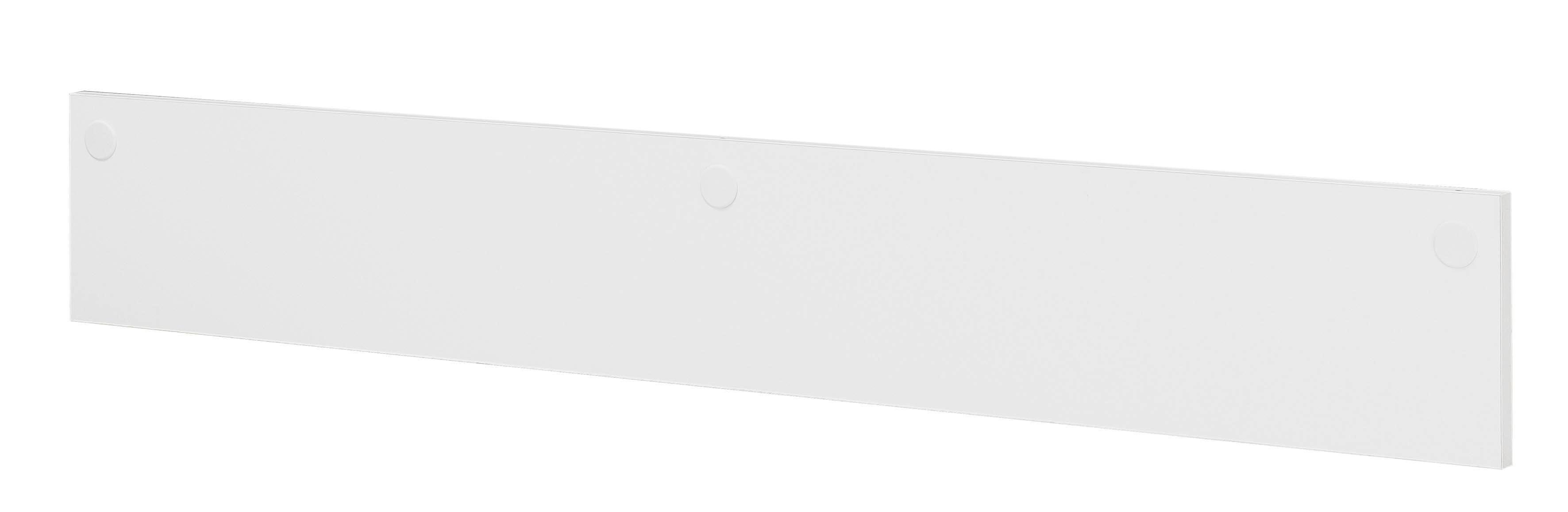 Voile de fond pour bureau XENON - L170 cm - Blanc