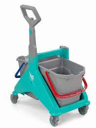 NICKITA - Chariot de ménage sous presse 2 X 15L