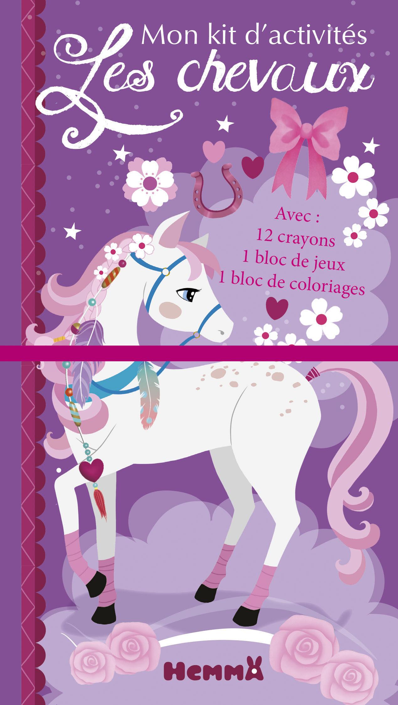Les chevaux - mon kit d'activités (cheval blanc)