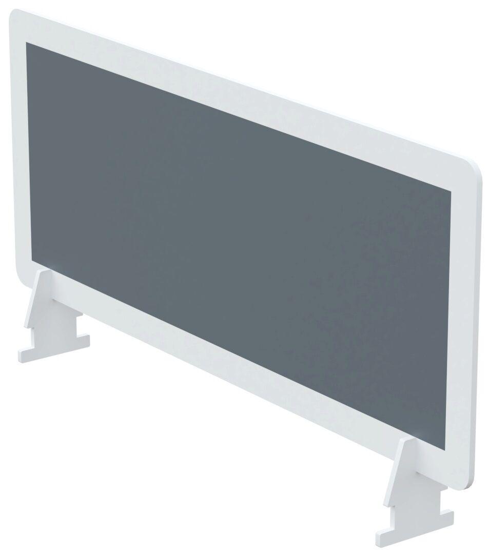 Écran de séparation pour bureau - L80 x H33 cm - anthracite