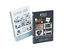 Agenda Summer Game 1 Jour par page 11,7X17cm 320 pages Viquel