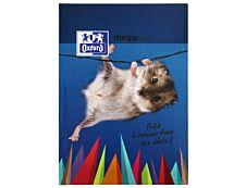 Cahier de textes Oxford Funny Pets - Megatext ® - 15 x 21 cm - différents modèles disponibles - Hamelin