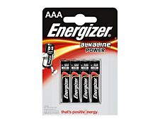 ENERGIZER Power - 4 piles alcalines - AAA LR03