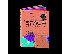 Bouchut - Agenda Space Adventure bleu - 1 jour par page