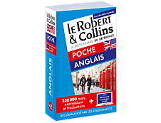Le Robert & Collins Dictionnaire de poche Anglais + Version numérique à télécharger