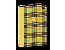 Agenda Scottish - 1 jour par page - 12 x 17 cm - bleu - Quo Vadis